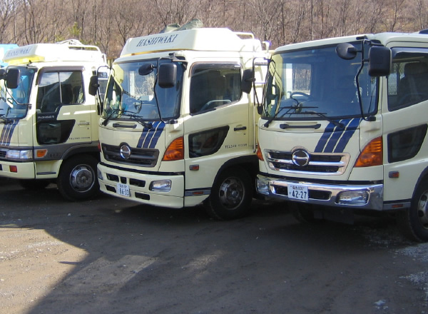 産業廃棄物収集運搬業